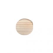 Cabide de madeira pinus natural -Unidade