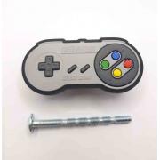 Puxador Gaveta Infantil Emborrachado Controle Nintendo geek
