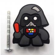 Puxador Gaveta Infantil Emborrachado Darth Vader Star Wars
