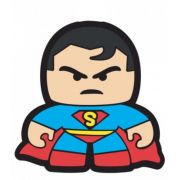 Puxador Infantil Emborrachado Super Homem