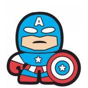 Puxador Infantil Enborrachado Capitão América