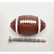 Puxador Infantil Resina Bola Futebol Americano