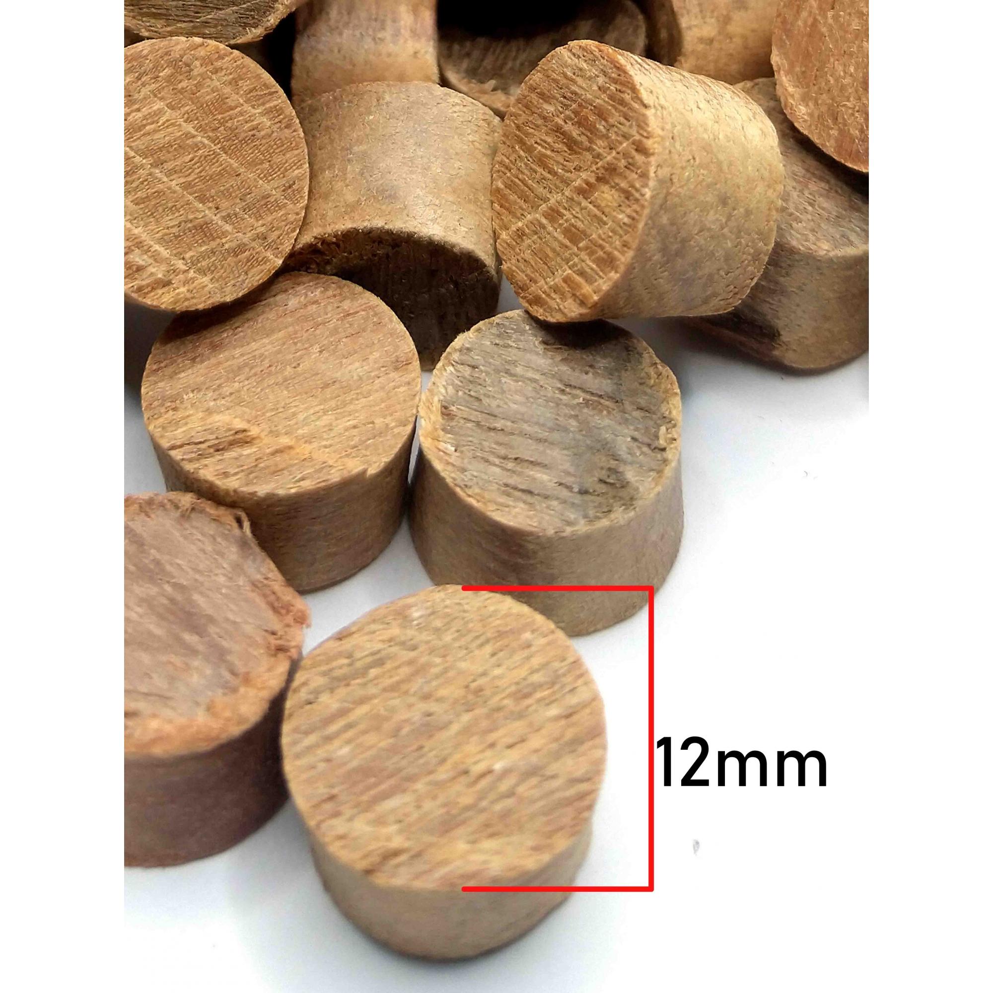 Cavilha assoalho cônica cumarú 12 mm -100 pcs