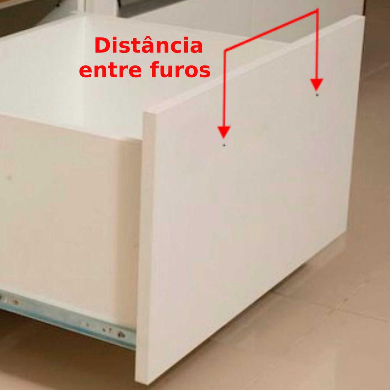 Corrediça Telescópica de gaveta até 45 Kg