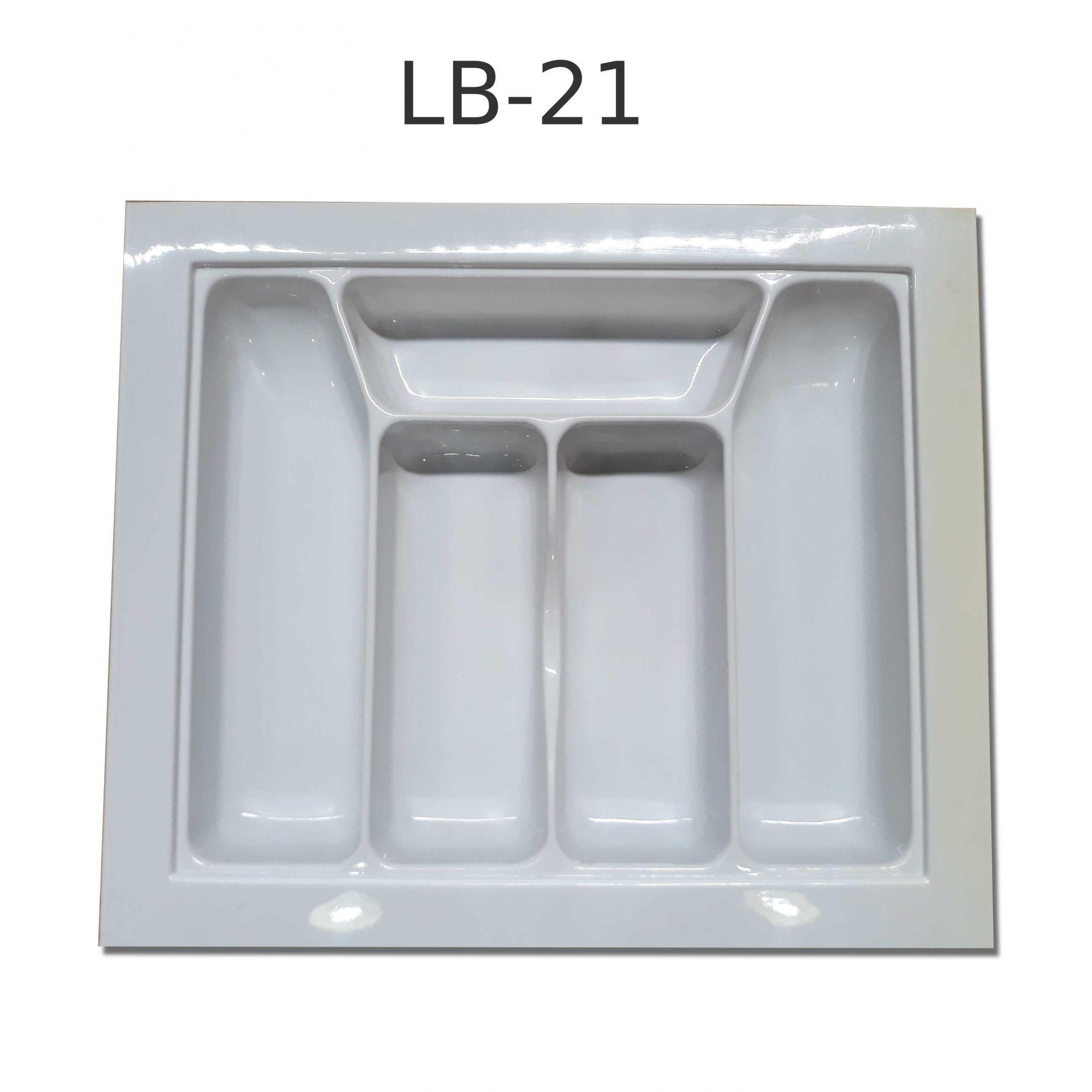 Divisor de Talher LB-021  Ajustável (48,0x41,0 cm) Branco