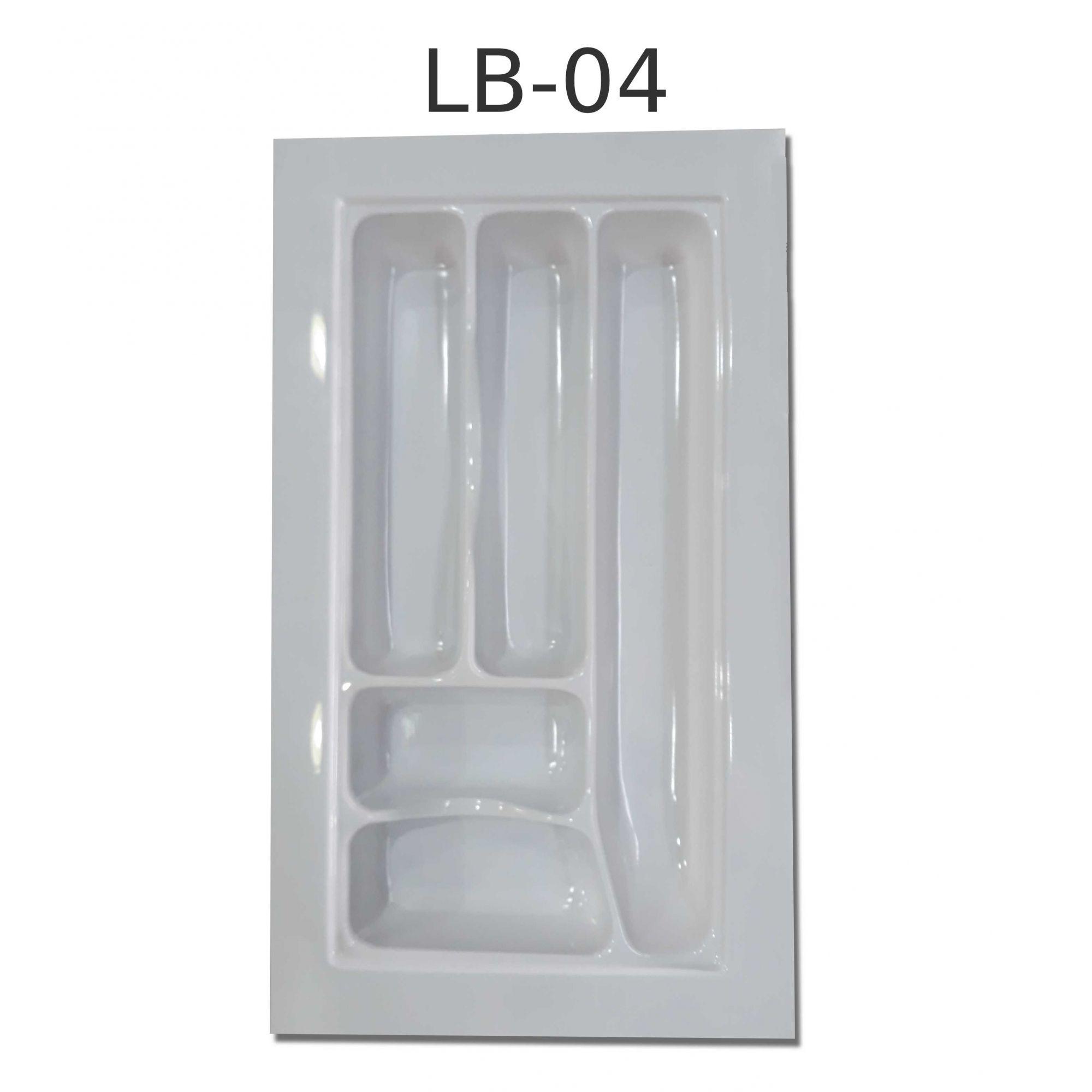 Organizador de Talher LB-04 Ajustável (49,5x28,5 cm) Branco