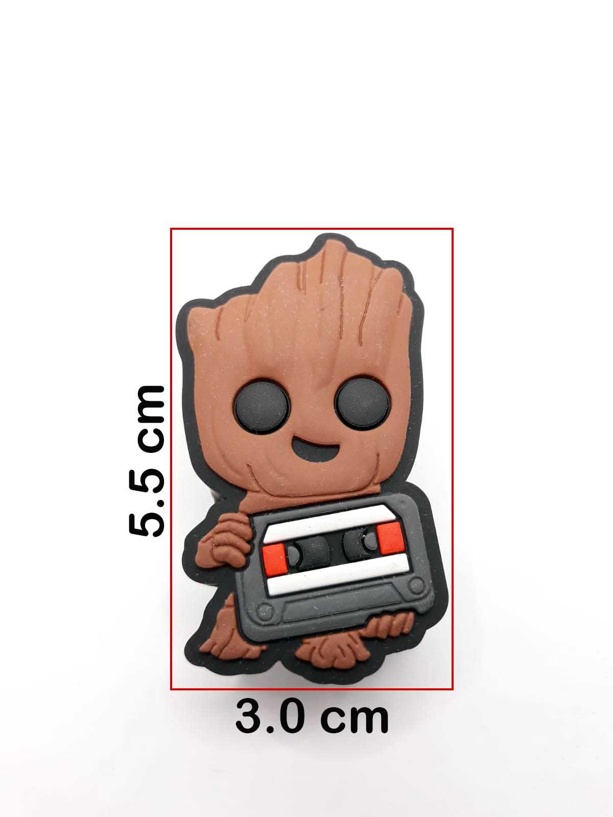 Puxador gaveta infantil emborrachado Groot marvel