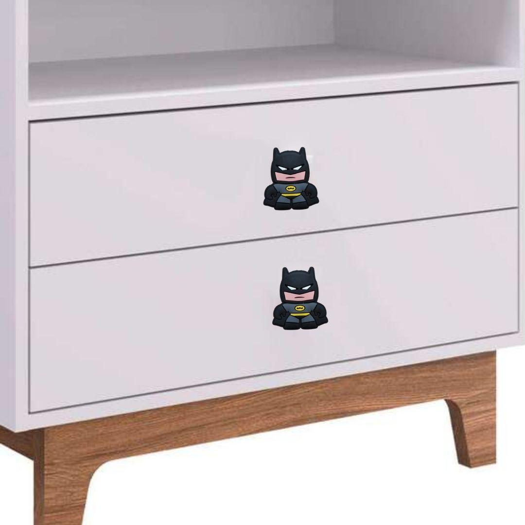 Puxador gaveta infantil emborrachado Batman