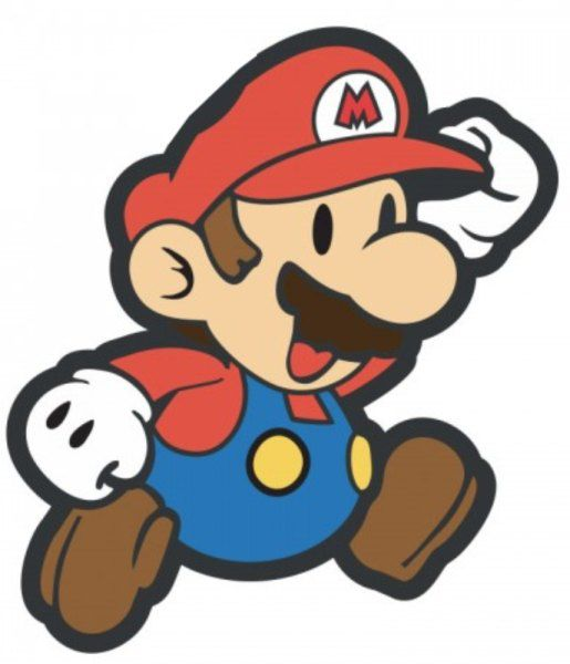 Puxador Infantil Emborrachado Mário Bross