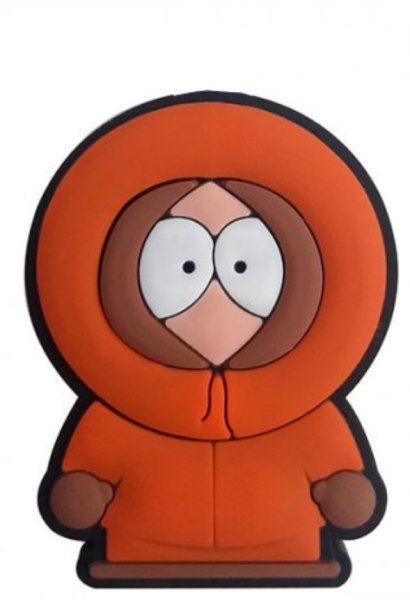 Puxador gaveta infantil emborrachado South Park Kenny