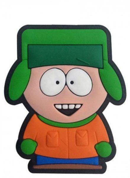 Puxador Infantil Emborrachado South Park Kyle