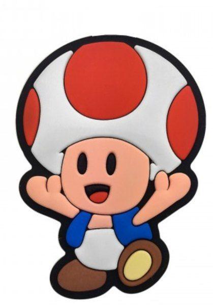 Puxador Infantil Emborrachado Toad