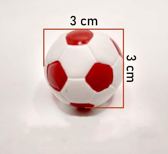 Puxador Infantil Resina Bola de Futebol