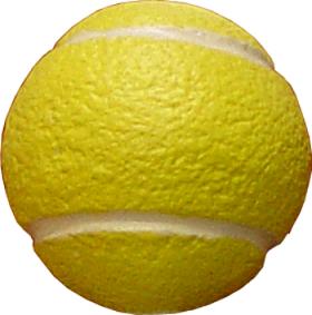 Puxador Infantil Resina Bola de Tênis