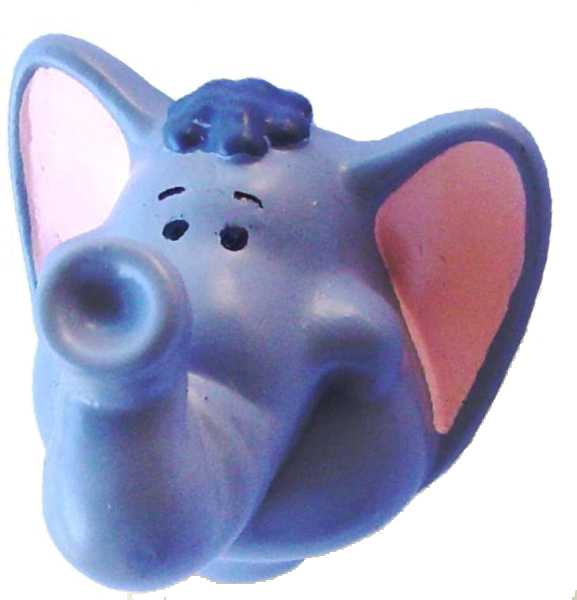 Puxador Infantil Resina Elefante