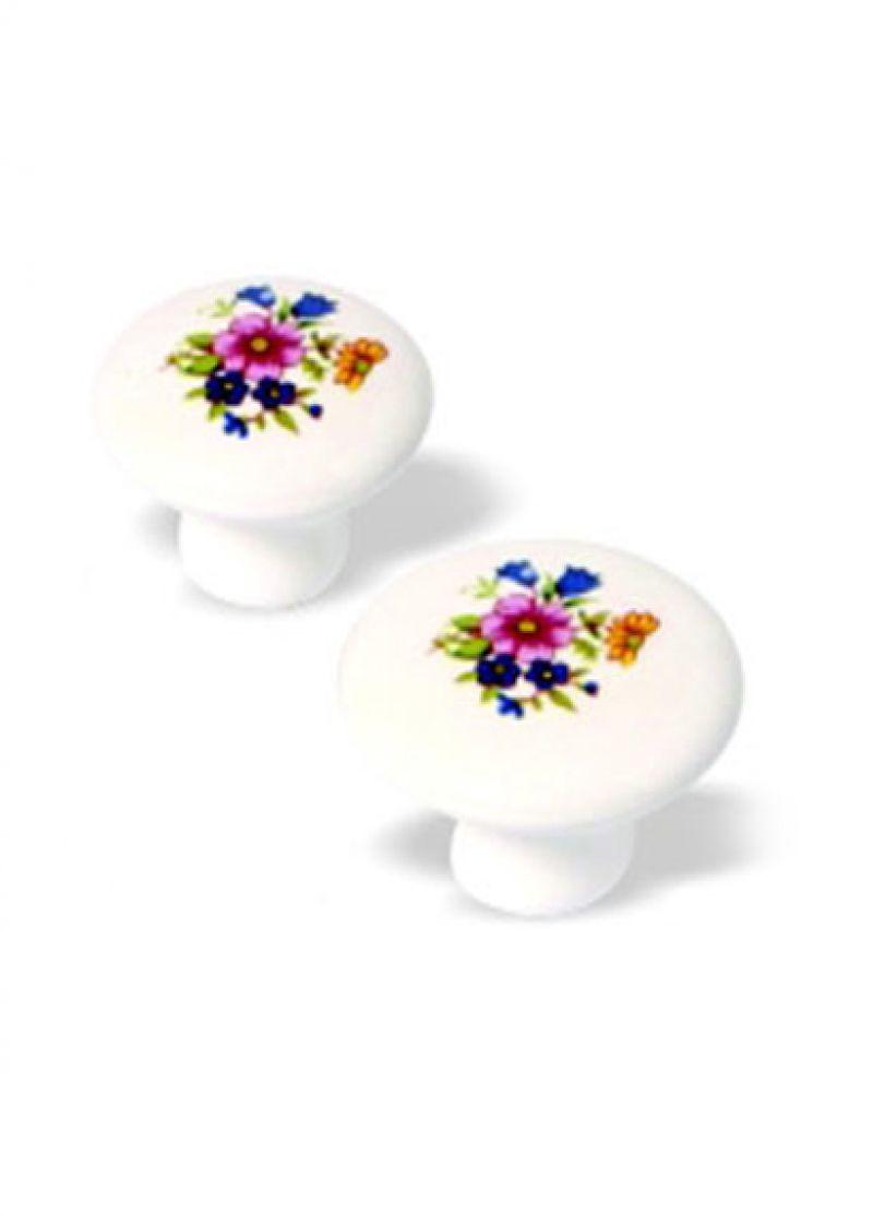 Puxador ponto porcelana 21000-F66