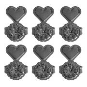 Tarraxas Mágicas Conjunto 3 pares Negra Duquesa Semi joias
