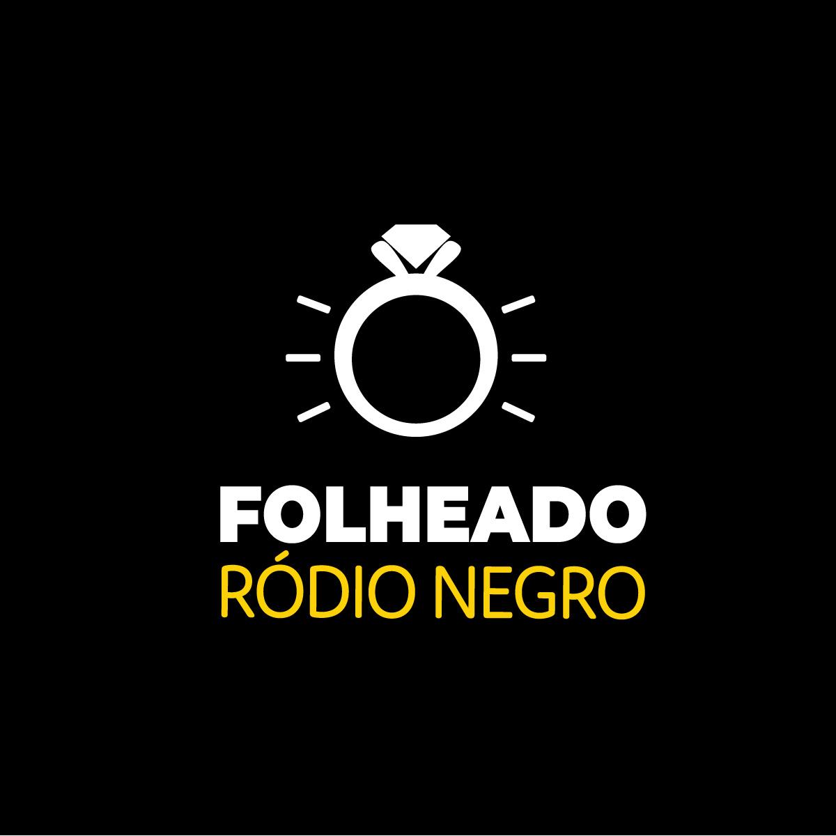 Brinco Gota Pedra Fusion Negra e R. Negro Duquesa Semi joias
