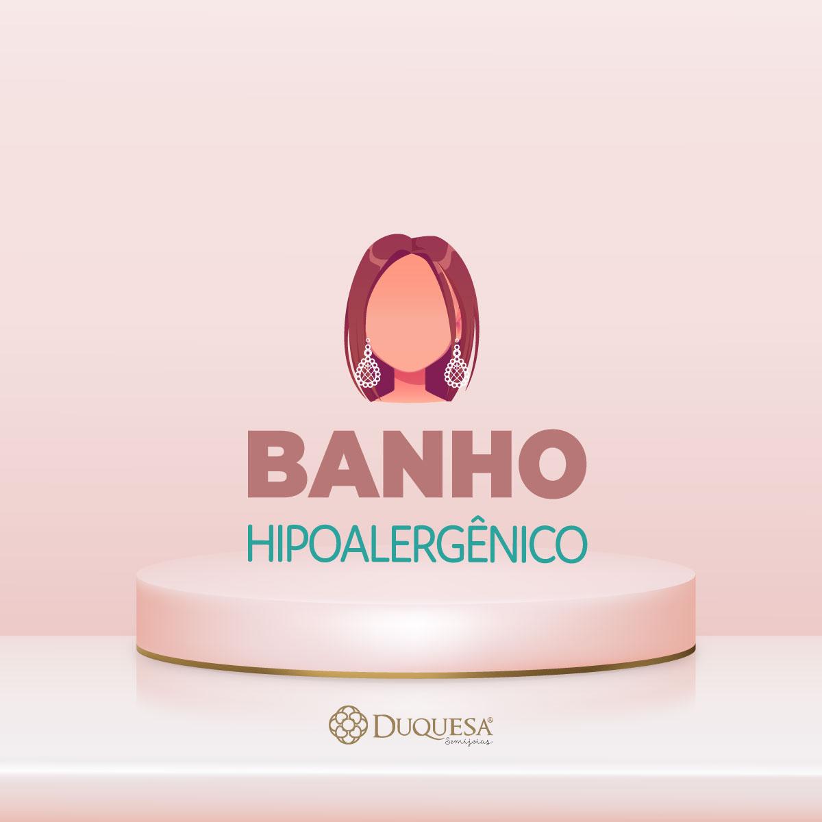 Brinco Infantil Flamingo Rosa Dourado Duquesa Semi joias