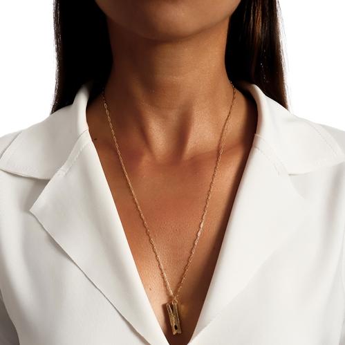 Colar Corrente Cartier Prendedor Dourado Duquesa Semi joias