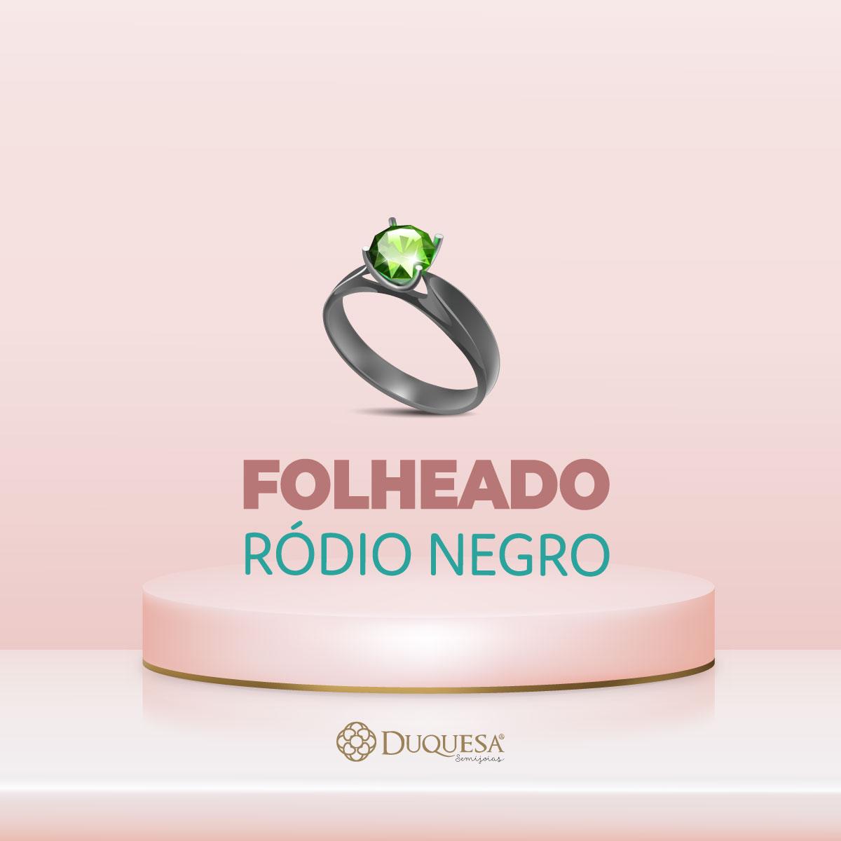 Conjunto Colar Brinco Gota Calcedônia Verde Negro Semi joia
