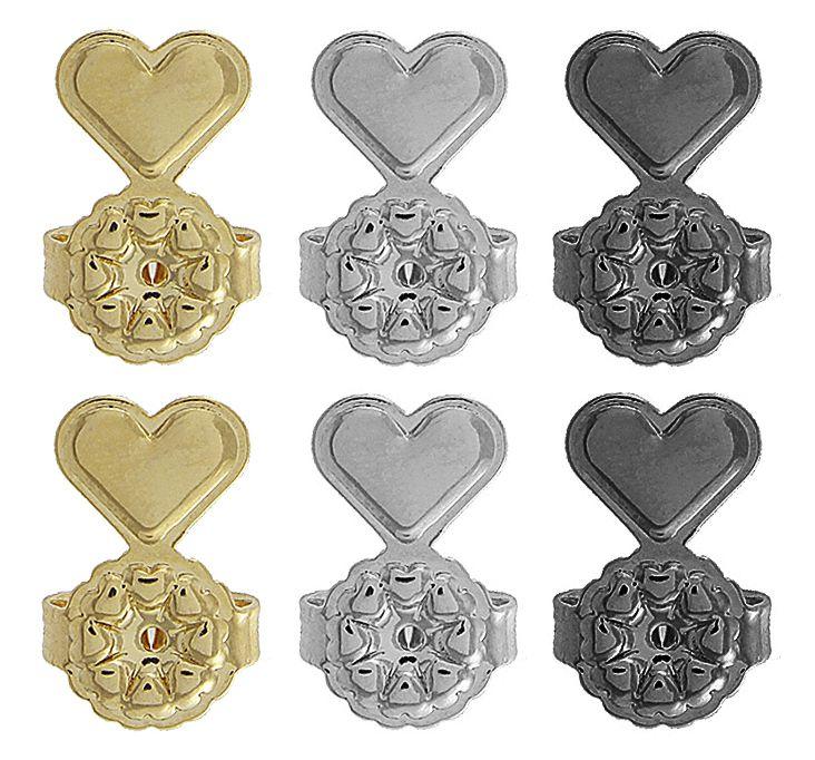 Tarraxas Mágicas 3 pares Dourada Prateada Negra Semi joias