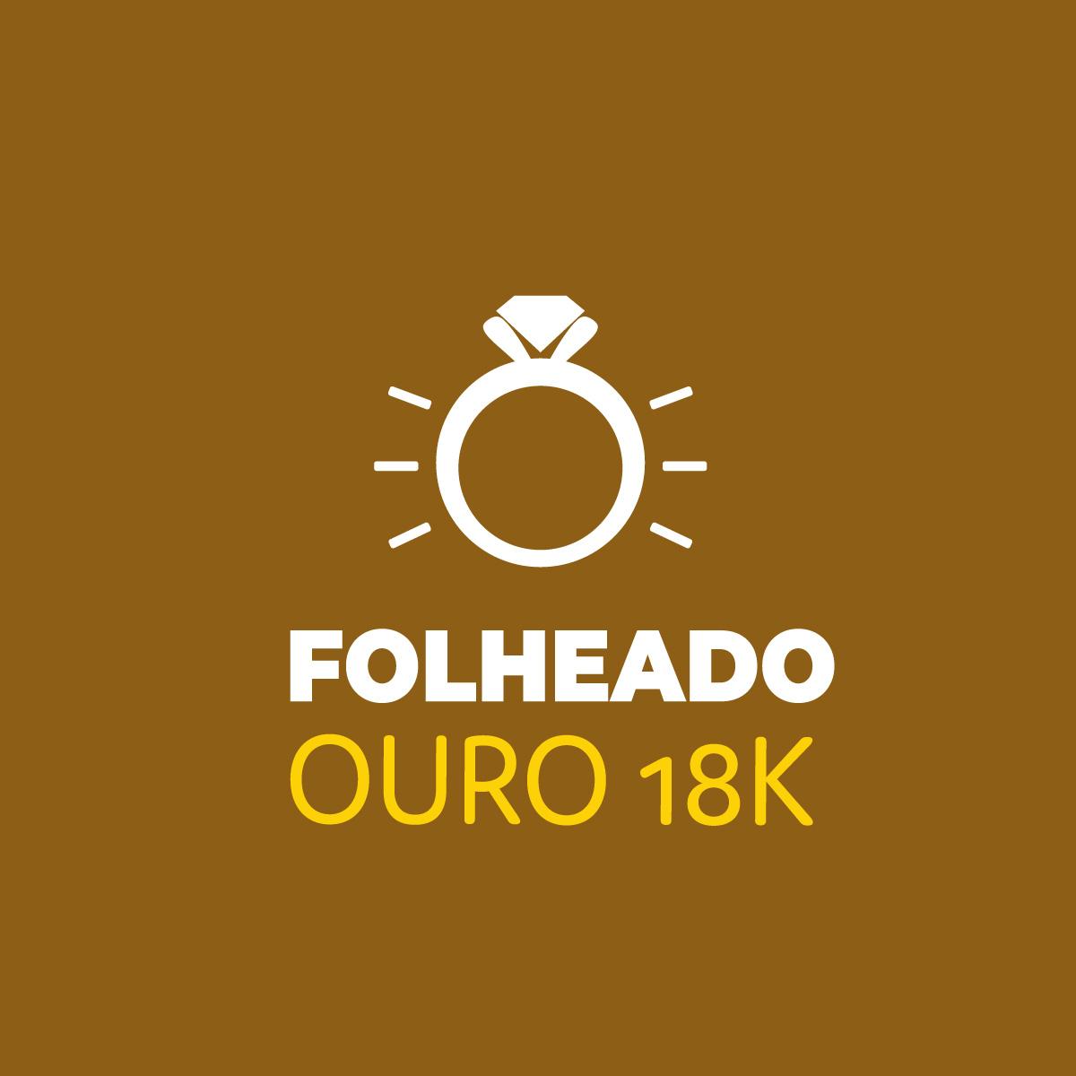 Pulseira Pérolas ABS com Pingente Dourado Duquesa Semi joias