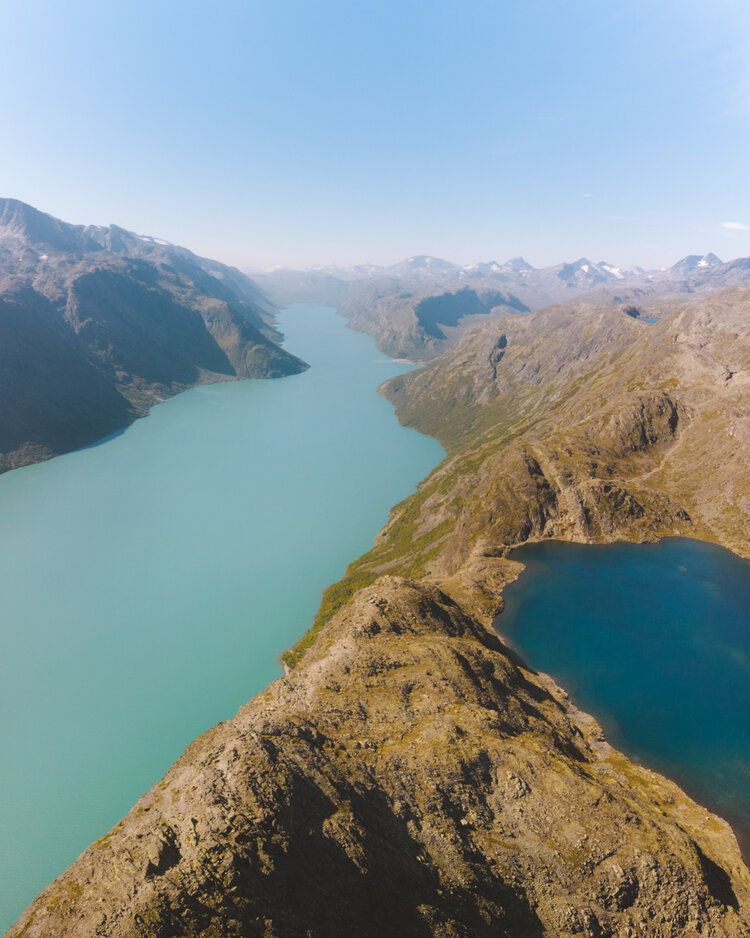 Between Colours, 2019, da série Norge