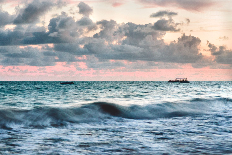 Boat Dawm, 2016, da série Across Brazil