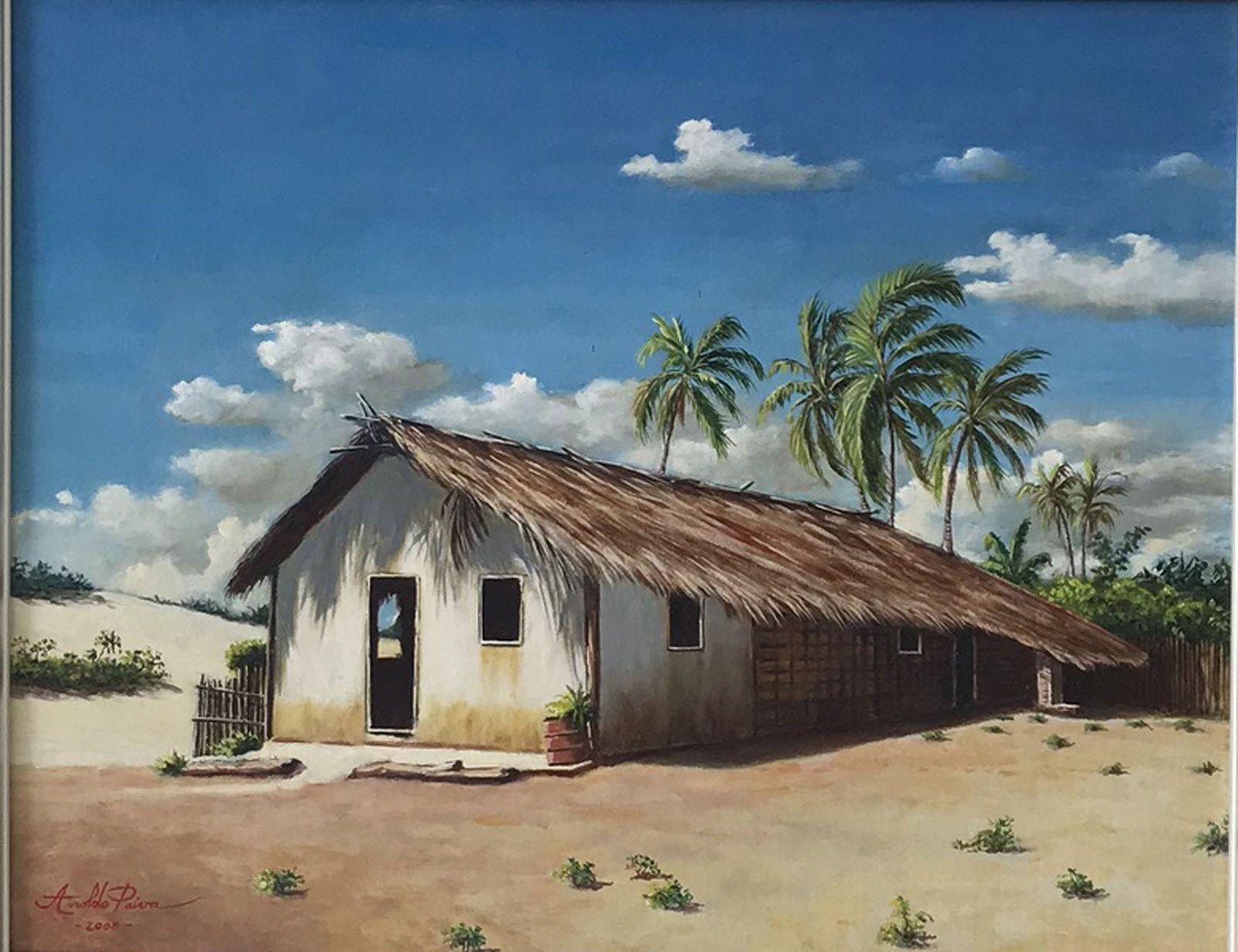 Aroldo Paiva - Casa em lençóis maranhenses, 2008