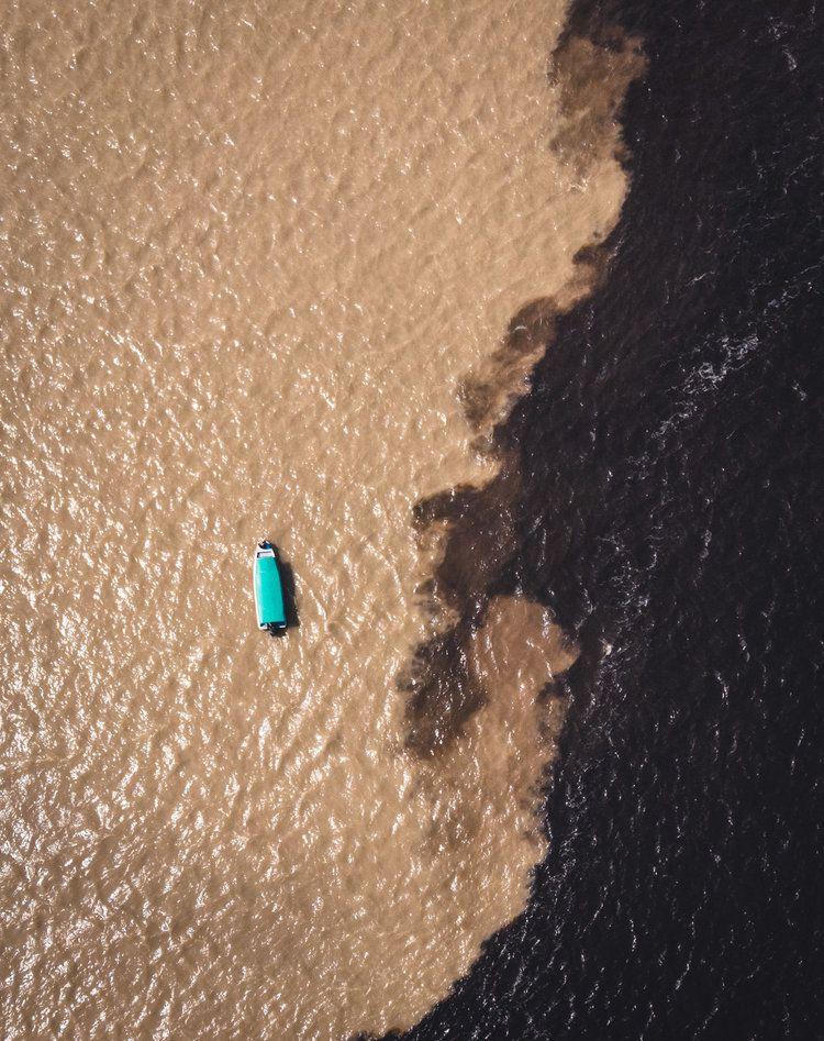 Encontro das Águas, 2018, da série Across Brazil