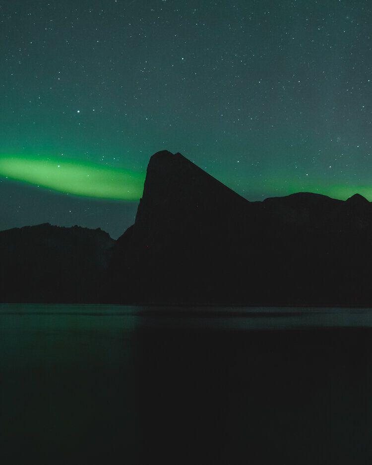 Green Darkness, 2019, da série Norge