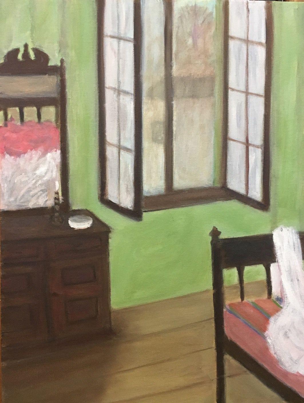 La ventana abierta II, 2019