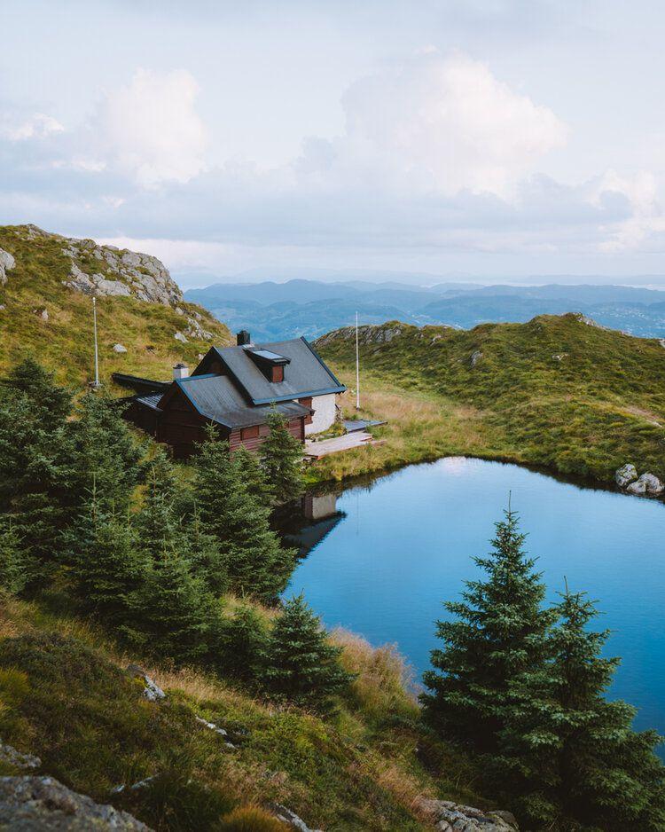 Lucas Guerra - Lake House, 2019, da série Norge
