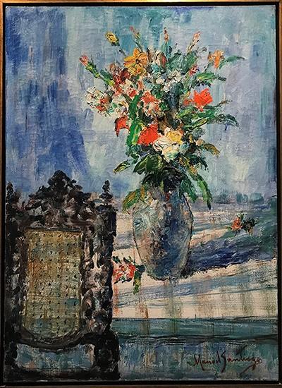 Manoel Santiago - Vaso com flores