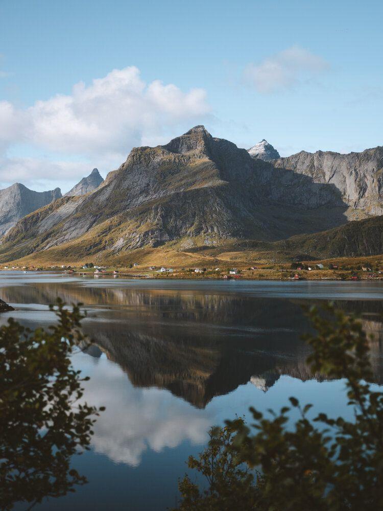 Mirror Mountain, 2019, da série Norge
