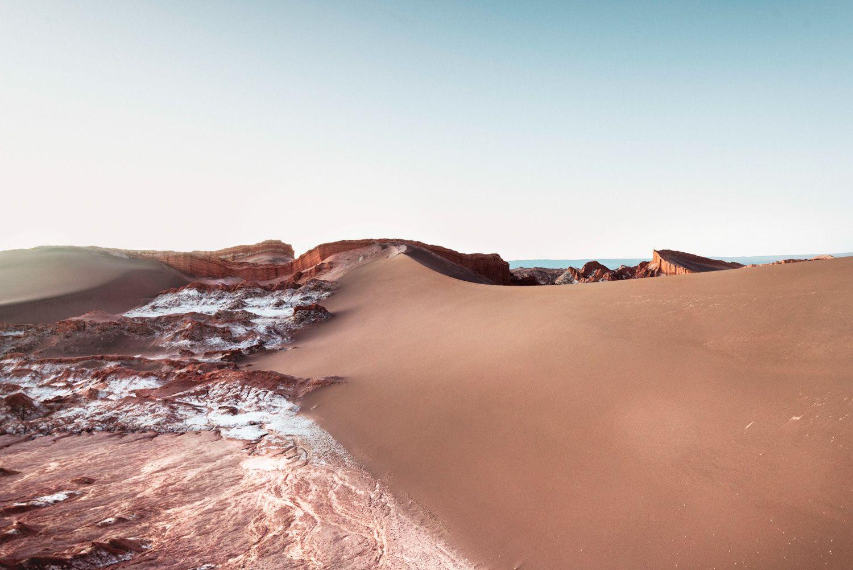 Vale de La Luna, 2016, da série Patagonia a Uyuni