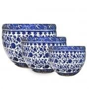 3PCS vaso de ceramica