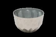 Cachepo Metal Polido 10X15Cm