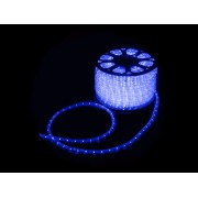 MANGUEIRA 11MM 24 LED 220V CORTE POR MT AZUL