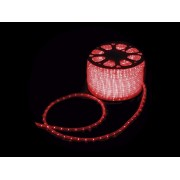 MANGUEIRA 13 MM 24 LED 220V CORTE POR MT VERMELHO
