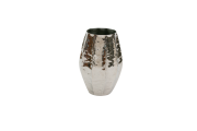 Vaso Metal Polido 29X13Cm