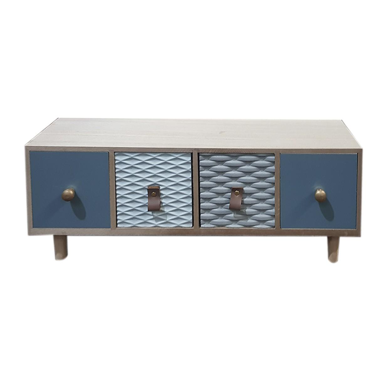 43*10*16cm armario de madeira