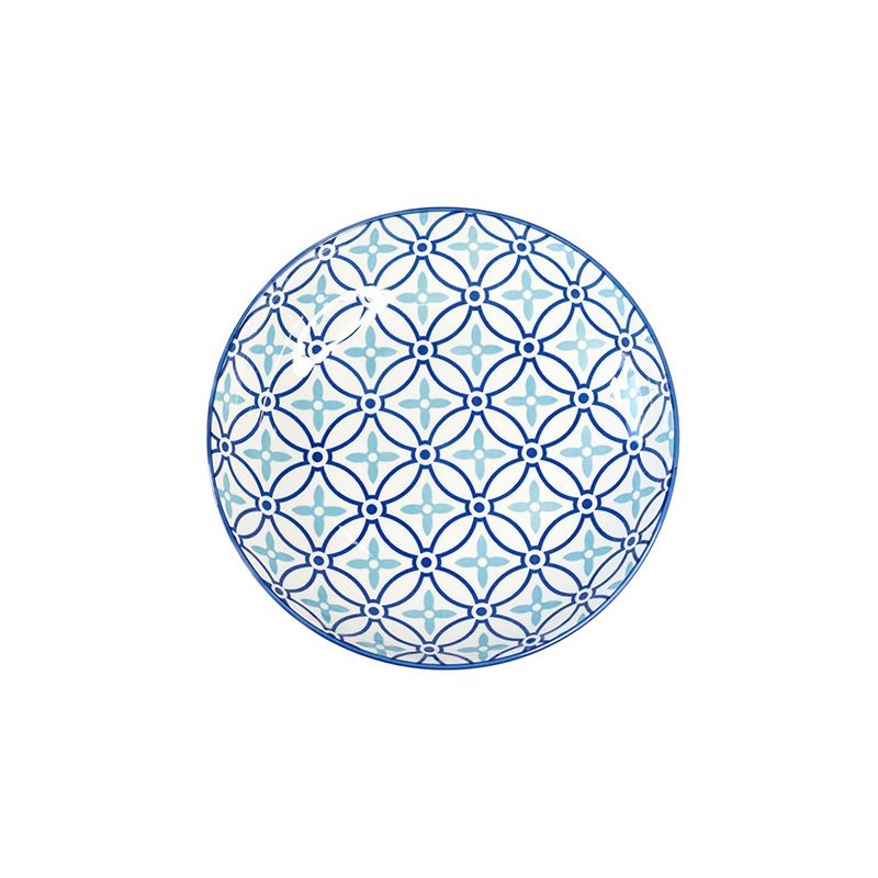 Aparelho de Jantar Porcelana Capadócia Azul - 16 peças - 5521