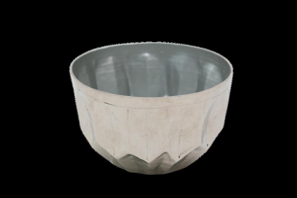 Cachepo Metal Polido 12,2X20Cm