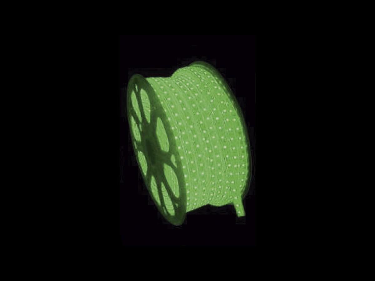 FITA DE LED 220V VERDE FIXA 100MTS C/CONECTOR