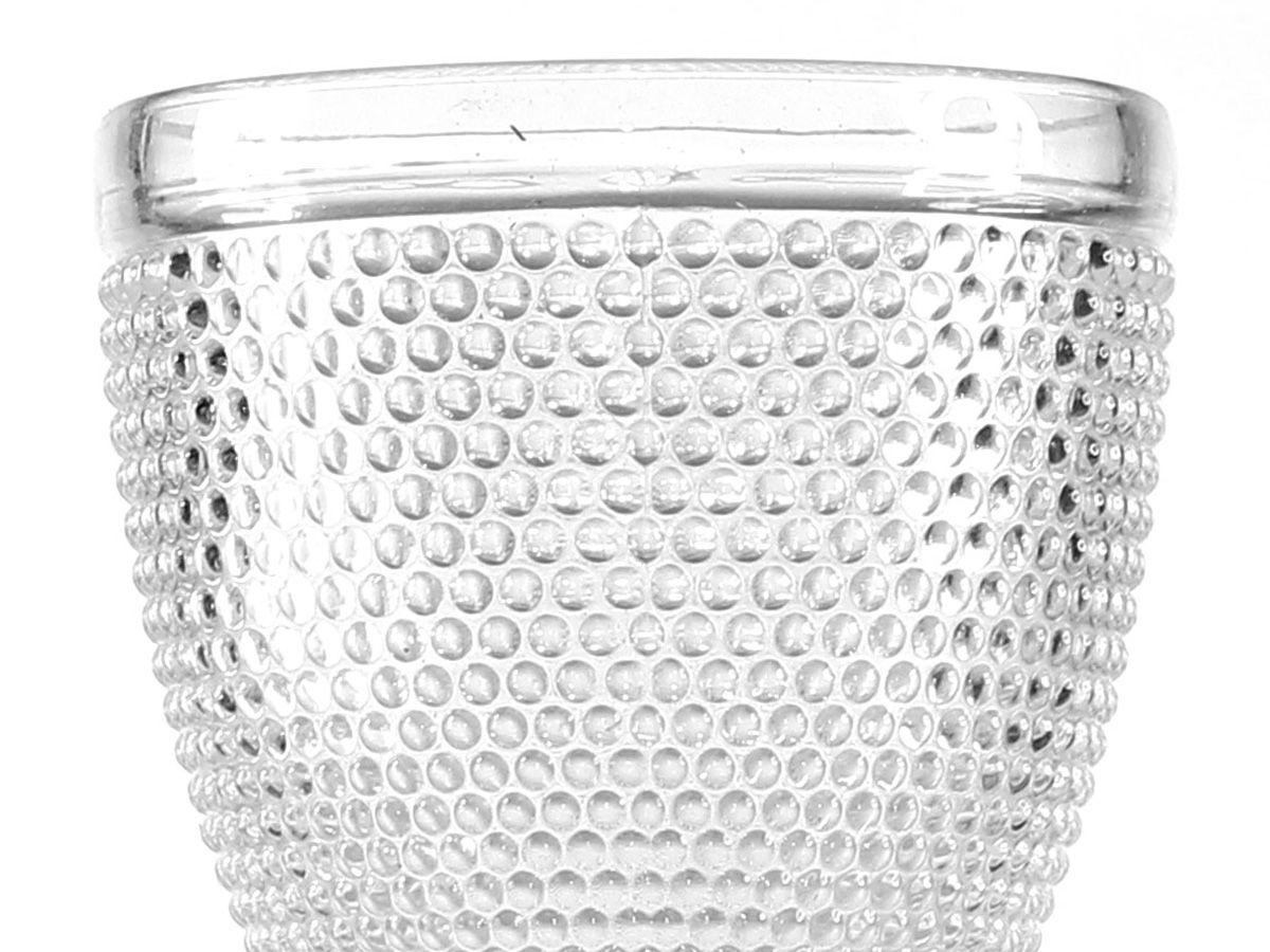 Jogo de Taças Bolinha para Licor em Vidro Transparente de 40 ml 6 Peças