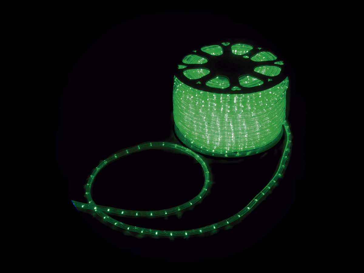 MANGUEIRA 13MM 36 LED 220V CORTE POR MT VERDE