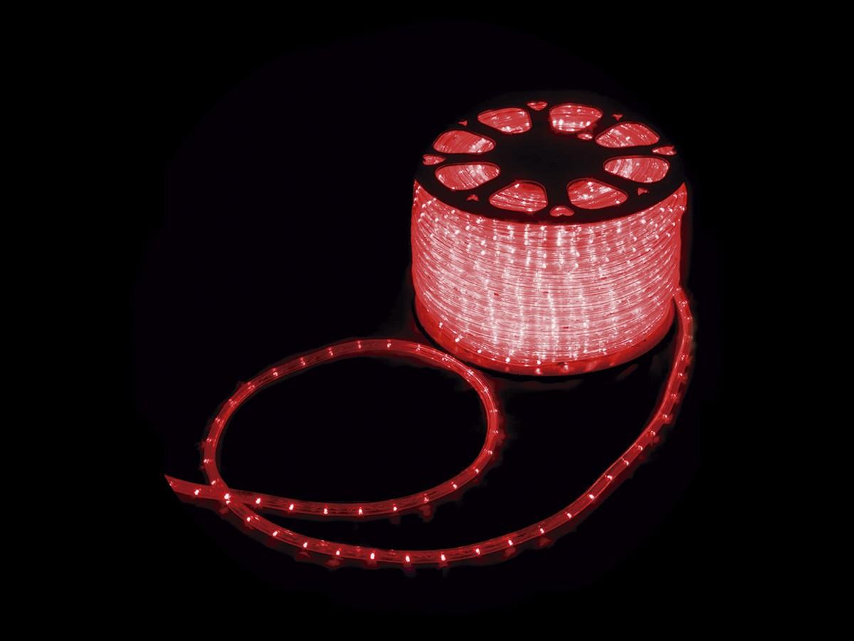 MANGUEIRA 13MM 36 LED 220V CORTE POR MT VERMELHO