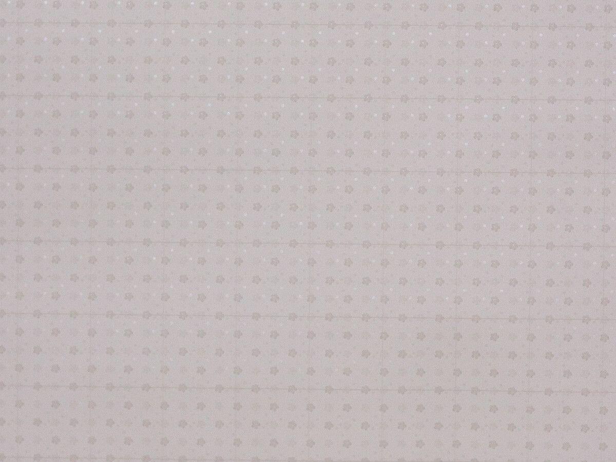 Papel De Parede Infantil Mini Flores Branco Gelo E Cinza - 390501